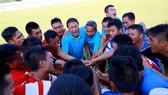 Bình Định quyết đấu Công an Nhân Dân giành vé vào thăng hạng Nhất. Ảnh: Phi Hải