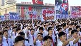 Người dân Triều Tiên biểu tình tại Bình Nhưỡng phản đối việc siết chặt lệnh cấm vận