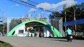 Trong khuôn viên Trường Đại học Nông Lâm TPHCM