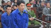 Bị cáo Hsu Minh Jung tại phiên tòa