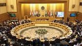 Các Bộ trưởng ngoại giao của Liên đoàn  Arab tổ chức một cuộc họp khẩn cấp về quyết định của Trump công nhận Jerusalem là thủ đô của Israel, ở Cairo, Ai Cập, ngày 9-12-2017. Ảnh: REUTERS
