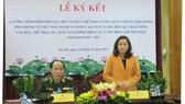 Bộ VH-TT-DL và Bộ Tư lệnh Bộ đội Biên phòng ký kết chương trình hợp tác giữa 2 đơn vị. Ảnh: Bộ VH-TT-DL