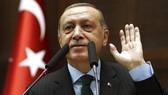 Tổng thống Thổ Nhĩ Kỳ Recep Tayyip Erdogan sẽ đến Paris . Ảnh: AP