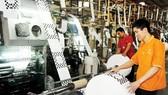 Sản xuất bao bì nhựa tại Công ty Nam Thái Sơn. Ảnh: CAO THĂNG