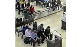 Các bị cáo trong phiên tòa xét xử phúc thẩm vụ án cựu đại biểu quốc hội Châu Thị Thu Nga lừa đảo