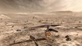 Máy bay trực thăng không người lái phiên bản thu nhỏ đầu tiên The Mars Helicopter