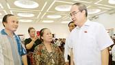 Cử tri huyện Bình Chánh, TPHCM kiến nghị sớm xử lý các dự án treo