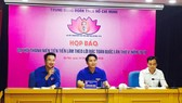 Trung ương Đoàn tổ chức họp báo giới thiệu chương trình Đại hội Thanh niên tiên tiến làm theo lời Bác. Ảnh: Hanoimoi