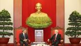 Tổng Bí thư Nguyễn Phú Trọng tiếp nước Cộng hòa Nhân dân Trung Hoa. Ảnh: TTXVN