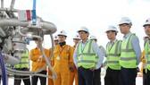 Kiểm tra công tác an toàn tại công trình khí là hoạt động thường xuyên của các cấp lãnh đạo PV GAS
