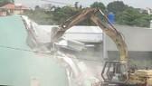 Giải toả 110 công trình chiếm dụng đất và xây dựng trái phép ở vườn rau Tân Bình