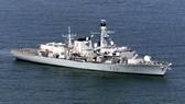 Tàu HMS Argyll. Ảnh: Hải quân Anh