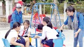 Khánh thành khu vui chơi trẻ em tại xã Phan, huyện Dương Minh Châu, tỉnh Tây Ninh