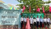 Trạm Y tế xã Tân Nhựt, huyện Bình Chánh chính thức hoạt động theo nguyên lý Y học gia đình ngày 17-04-2019. Ảnh: medinet