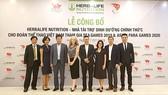Đại diện lãnh đạo của Thể thao Việt Nam và Herbalife Nutrition tại lễ ký kết ngày 17-7-2019
