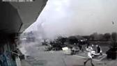 Hiện trường vụ nổ khí gas tại nhà hàng ở tỉnh Giang Tô, miền Đông Trung Quốc ngày 13-10-2019. Ảnh: SHINE/TTXVN