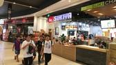 Một góc không gian ẩm thực trong trung tâm mua sắm tại quận Bình Tân, TPHCM. Ảnh: THÀNH TRÍ