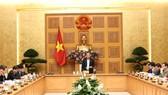 Phó Thủ tướng Thường trực Chính phủ Trương Hòa Bình chủ trì hội nghị. Ảnh: VGP