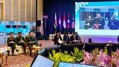 Bộ trưởng Ngô Xuân Lịch phát biểu tại ADMM hẹp. Ảnh: QĐND