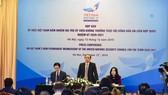 Thứ trưởng Bộ Ngoại giao Lê Hoài Trung chủ trì buổi họp báo