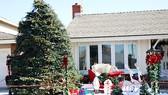 Một căn nhà người Việt tại Mỹ trang trí đón Giáng sinh