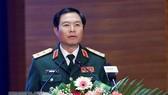 Trung tướng Nguyễn Tân Cương vừa được bổ nhiệm giữ chức Thứ trưởng Bộ Quốc phòng. Ảnh: TTXVN