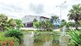 Khuôn viên xanh tại Khu liên hợp xử lý chất thải Đa Phước