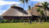 Khuôn viên trường học xanh ở Bali, Indonesia