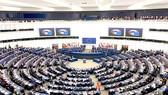 Quang cảnh phiên họp toàn thể tại trụ sở Nghị viện châu Âu ở Strasbourg (Pháp). Ảnh: TTXVN