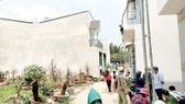 Các công trình xây dựng không phép trên đất nông nghiệp tại đường số 40, khu phố 8, phường Hiệp Bình Chánh