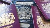 Anh chính thức đổi màu hộ chiếu hậu Brexit