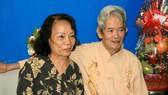 Vợ chồng NSND Huỳnh Nga
