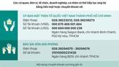 Thông tin tiếp nhận ủng hộ phòng, chống dịch Covid-19 và hạn mặn xâm nhập (ngày 20-5-2020)