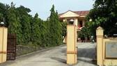 Trụ sở BQL rừng phòng hộ huyện Quảng Ninh nơi ông Lê Chí Tấn làm việc