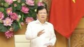 Phó Thủ tướng Trịnh Đình Dũng phát biểu. Ảnh: Doãn Tấn/TTXVN