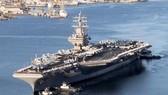 Tàu sân bay USS Reagan của Mỹ. Ảnh: MilitaryFactory
