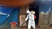 Ngành y tế tỉnh Đắk Nông đang triển khai các biện pháp khử trùng tại vùng dịch