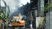 Cháy kho hóa chất tại Hà Nội