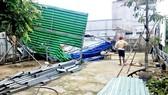 Một công trình xây dựng không phép tại xã Vĩnh Lộc B, huyện Bình Chánh  được cấp ủy địa phương phát hiện kịp thời, vận động chủ công trình tự tháo dỡ, khắc phục vi phạm