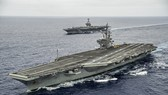 Tàu sân bay USS Ronald Reagan. Ảnh: USNI News