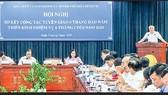 Trưởng ban Tuyên giáo Thành ủy TPHCM Phan Nguyễn Như Khuê phát biểu chỉ đạo hội nghị