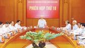 Tổng Bí thư, Chủ tịch nước Nguyễn Phú Trọng phát biểu chỉ đạo phiên họp. Ảnh:  TTXVN
