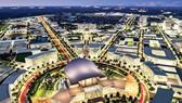 Mô phỏng ý tưởng quy hoạch khu đô thị sáng tạo phía Đông