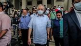Cựu Thủ tướng Najib Razak hầu tòa ngày 29-7. Ảnh: nikkei.com