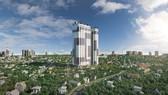 Phối cảnh dự án C-Sky View – tòa nhà cao nhất tỉnh Bình Dương