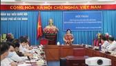 Hội thảo góp ý Dự án luật do Đoàn ĐBQH TPHCM tổ chức ngày 11-9. Ảnh: MAI HOA