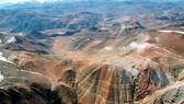 Dự án khai thác vàng Pascua Lama của Tập đoàn khai khoáng Barrick Gold (Canada) tại Chile. Ảnh: www.banktrack.org