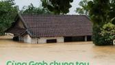 BIDV và GRAB hưởng ứng vận động cứu trợ miền Trung