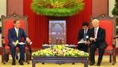Phát triển toàn diện quan hệ đối tác chiến lược sâu rộng Nhật Bản - Việt Nam
