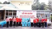 Tổ công tác gồm có đại diện hội CTĐ huyện Long Thành, Công ty Vedan và Trung tâm Y tế dự phòng huyện Long Thành